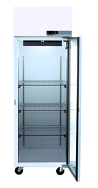 Glass Door Lab fridge