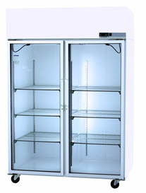 Glass Door Scientific Refrigerator